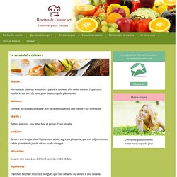 Recettes de cuisine.net : votre livre de cuisine, recette de cuisine du jour