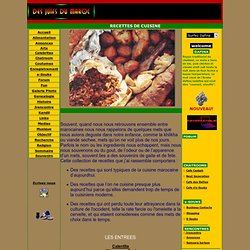 Recettes de cuisine Juive Marocaine