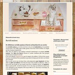 Mon tiroir à recettes - Blog de cuisine: Ravioli maison