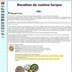 Recettes de cuisine turque