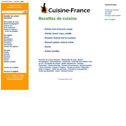 Cuisine France