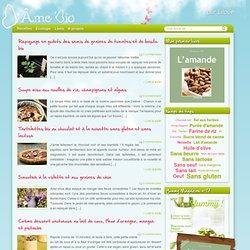 D'Âme Bio, Recettes de cuisine bio