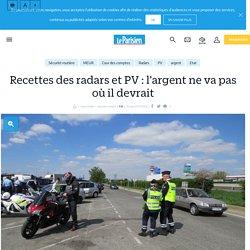 Recettes des radars et PV : l'argent ne va pas où il devrait - Le Parisien