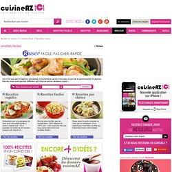 Recettes faciles, les recettes de Cuisine AZ