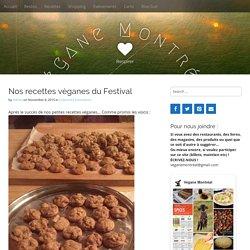 Nos recettes véganes du Festival - Végane Montréal