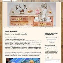 Mon tiroir à recettes - Blog de cuisine: Galettes de carottes à la coriandre