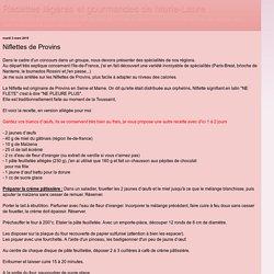 Niflettes de Provins