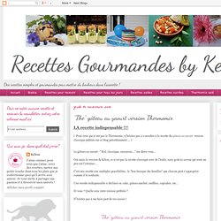 "Recettes gourmandes by Kélou: ""The"" gâteau au yaourt version Thermomix"