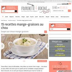 15 recettes mange-graisses au chou