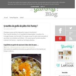 9 recettes de gratin de pâtes très Yummy