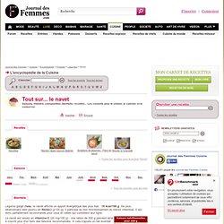 NAVET : tout sur le navet, recettes, saison du navet sur Journal des Femmes Cuisine