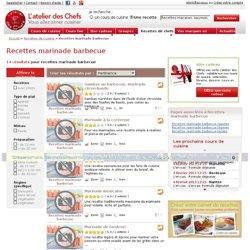 marinade barbecue, les recettes de marinade barbecue de L'atelier des Chefs