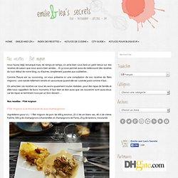 Nos recettes : Filet mignon - Emilie and Lea