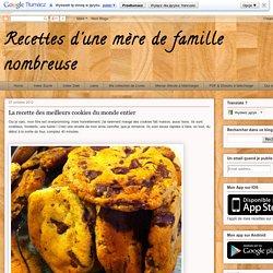 Cookies du monde entier