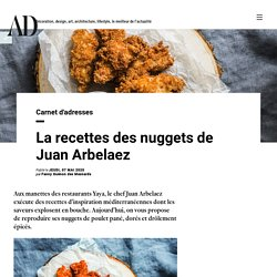 La recettes des nuggets de Juan Arbelaez