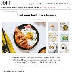 Des recettes d'œufs qui changent - Elle à Table