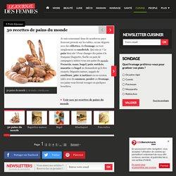 30 recettes de pains du monde