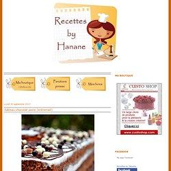 Recettes by Hanane (pâtisserie - cuisine Marocaine...)