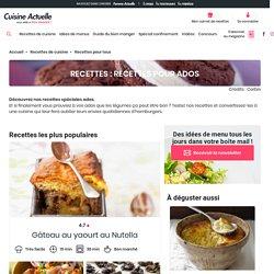 Recettes pour Ados : recettes de Recettes pour Ados - Cuisine Actuelle