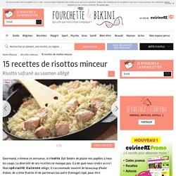 15 recettes de risottos minceur