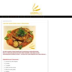 Casa Fabio - Recettes du Monde: Tajine d'agneau aux légumes