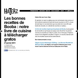 Les bonnes recettes de Booba : notre livre de cuisine à télécharger gratos