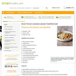 Recettes de cuisson à basse température - bahya-culinaire.com