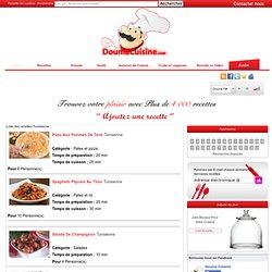 Recette et cuisine Tunisienne