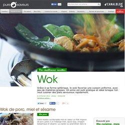 wok recettes boeuf porc poulet végétarien - Rapide & bon
