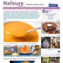 10 recettes Soupes et Veloutés potiron/citrouille