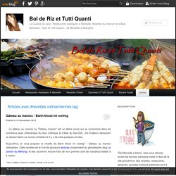 recettes vietnamiennes - Bol de Riz et Tutti Quanti