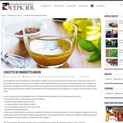 3 recettes de vinaigrettes maison - Blogue de l'Épicier