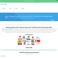 Recharge Plans - DataYuge