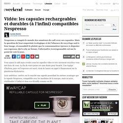Vidéo: les capsules rechargeables et durables (à l'infini) compatibles Nespresso