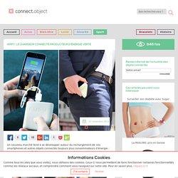 Rechargez votre smartphone avec Ampy, la batterie connectée