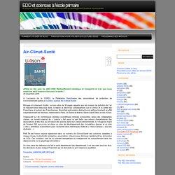 EDD et sciences à l'école primaire » réchauffement climatique