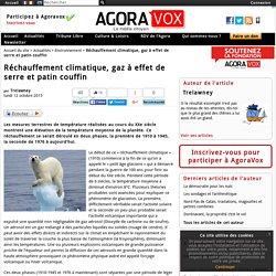 Réchauffement climatique, gaz à effet de serre et patin couffin