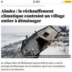Alaska : le réchauffement climatique contraint un village entier à déménager