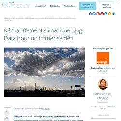 Réchauffement climatique : Big Data pour un immense défi