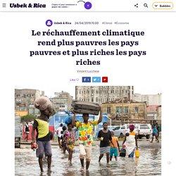 Le réchauffement climatique creuse les inégalités entre les pays