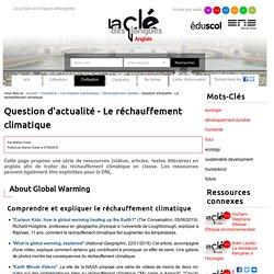 Question d'actualité - Le réchauffement climatique