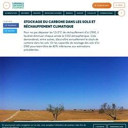 Stockage du carbone dans les sols et réchauffement climatique