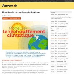 Modéliser le réchauffement climatique