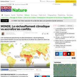 MONDE. Le réchauffement climatique va accroître les conflits