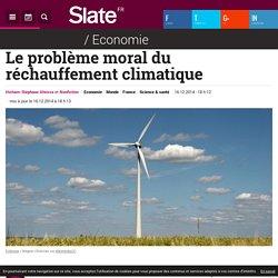 Le problème moral du réchauffement climatique