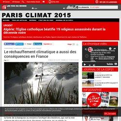 Le réchauffement climatique a aussi des conséquences en France