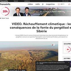 Réchauffement climatique :les conséquences de la fonte du pergélisol en Sibérie