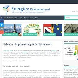 les premiers signes du réchauffement ~ Energie et développement, par Thibault Laconde