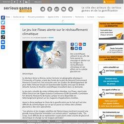 Le jeu Ice Flows alerte sur le réchauffement climatique Serious Game Plateforme d'appels d'offre et d'information sur le serious game