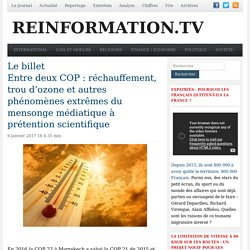 Site n° 3 : reinformation.tv